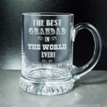 Best Grandad Tankard PERSONALISED ENGRAVED ref ATBG